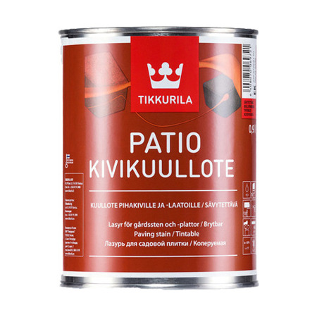 Impregnat do kostki brukowej PATIO Tikkurila - Reddish Brown 9L