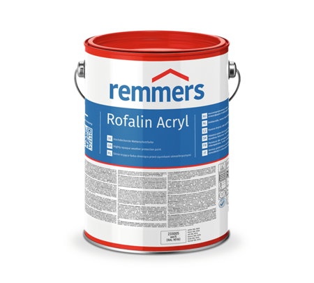 Remmers Rofalin Acryl - szary antracytowy 10L RAL 7016